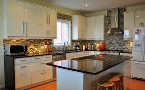 Granite Tile Kitchen Counter Considerations In Black Granite Tile Usage Lgilabcom Modern