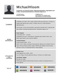 40 Creative Resume Templates [Unique NonTraditional Designs] Classy Resume Background