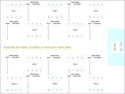 wedding seating chart template excel lovely reception round or rectangular tables table seating chart