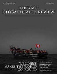 Yale Global Health Review Vol 6 No 1 By Yale Global Health