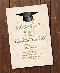 Print Graduation Announcement Class Of 2019 High School College Graduation Invitation Card