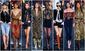 Paris Fashion Week: Saint Laurent Spring 2020 Collection ...