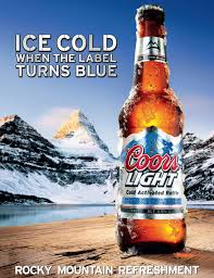Coors Light Slogan 2012 How Cold Is Coors Lights Super Cold Beer Coors Light