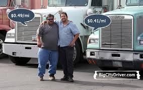 otr driver truck driver salary average truck driver pay per mile big