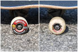 spitfire formula four wheels. countless hours of skating and the wheels are just as strong they were on day 1. spitfire formula four k
