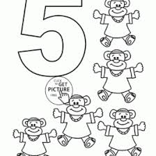 Small Picture Preschool Coloring Pages Number 5 Archives Mente Beta Most