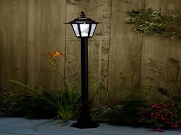 solar powered lamp post lights solar powered outdoor lamp