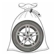Мешки <b>хранения колес</b> Comfort Address Bag-020, 100х100, 4шт ...