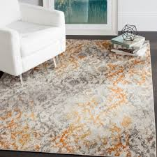 marvellous grey and orange area rug with bungalow design sofa books fireplace rugs red geometric inexpensive burnt throw large gray awesome