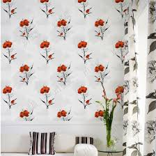 natural flower design wall paper living room wall decorative pvc 3d wallpaper washable pictures photos