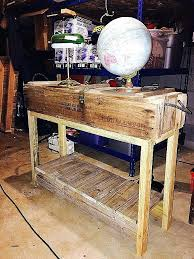 how to make wine crate coffee table elegant vintage military ammo box converted into a hall