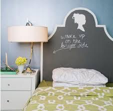 Chalkboard headboard. Chalkboard headboard. Idea for an inexpensive ...