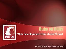 Design Patterns Ruby On Rails Ruby On Rails Webdocs Cs Ualberta