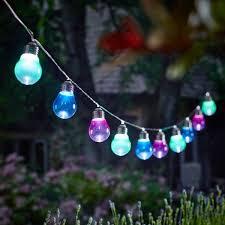 cole bright solar 10 bulb string lights