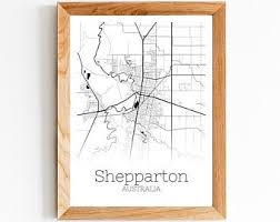 More information shepparton volkswagen are a locally owned business with superior product knowledge and reliability, meaning you will get second to none service when it comes to purchasing your next vehicle. Shepparton Map Print Etsy