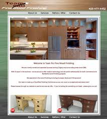 Kitchen Furniture Calgary Team Pro Fine Wood Finishing Cabinets Refinishing Stairs Kitchen