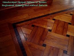 Enchanting Wood Floor Patterns Ideas With Dark Hardwood Floors With