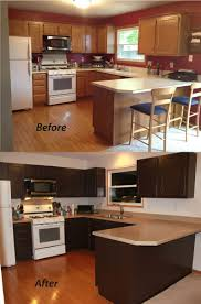 Small Kitchen Paint Colors Kitchen Cabinets Staining Kitchen Cabinets Dark Brown Very Small