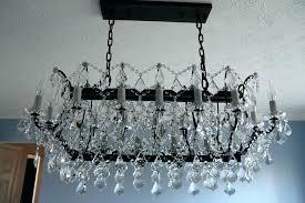 restoration hardware chandelier rococo orb crystal