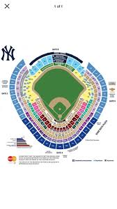 Yankees Seating Price Chart 1 Ticket New York Yankees Vs Indians Alds 10 9 Yankee