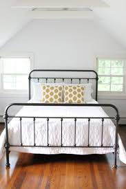 best  black metal bed frame ideas on pinterest  black metal