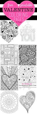 You can print and color one of these pages and give it to a special valentine! Free Valentine Coloring Pages U Create