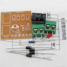 10pcs full wave rectifier circuit board suite components in4007 10pcs full wave rectifier circuit board suite components in4007 bridge rectifier ac to dc power