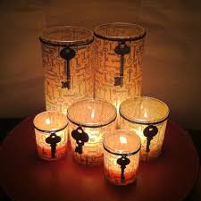 DIY Tutorial DIY Candles / DIY Decorating Glass Candle Holders - Bead&Cord