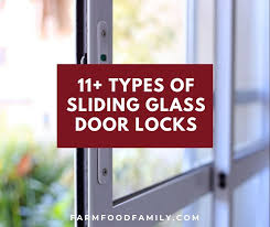 diffe types of sliding glass door