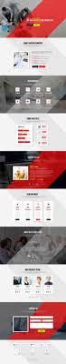 Single Page Website Design Template Best Single Page Web Templates Web Design Graphic Design