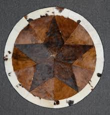 designer cowhide rug