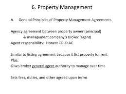 Property Management Agreements Alabama Real Estate Exam Property Management Ppt Download 21