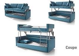 Coupe Sofa Sleeper Bunk Bed Convertable Modern Contemporary Futon