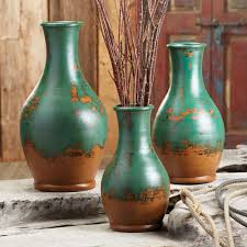 Decorative Jugs And Vases Rustic Pottery Vases At Black Forest Decor