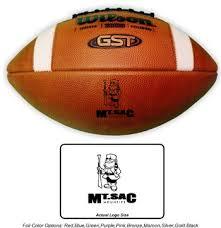 under armour 695xt. wilson gst 1003 pattern football with included laser logo- 12 balls logo under armour 695xt