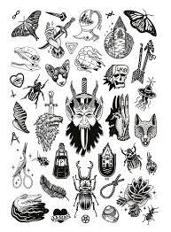 Jacker Magazine 11 Hhhhh идеи для татуировок черная татуировка