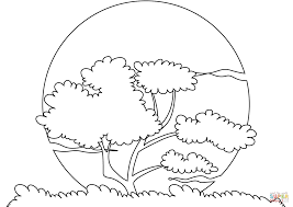 Small Picture Sunset Sun coloring page Free Printable Coloring Pages