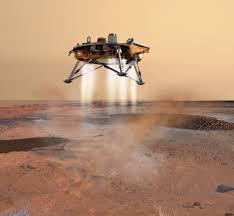 Risultato immagini per foto immagini  della sonda atterrata ieri su marte