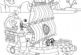 Il Galeone Di Jake E I Pirati Dellisola Che Non Cè Disegni Da