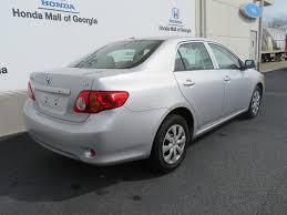 2009 Used Toyota Corolla 4dr Sedan Automatic LE at Honda Mall of ...