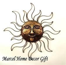 outdoor sun decor sun faces wall decor amazing fascinating sun face metal outdoor wall art patio
