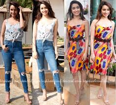 shraddha kapoor at baaghi 3 promotions