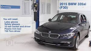 Coupe Series 2013 bmw 335xi : BMW 3 Series 2012-2015 How to Replace Cabin Microfilter DIY - YouTube