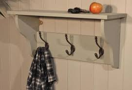 Wall Mounted Coat Rack With Shelf Walmart shelf Wall Coat Hanger With Shelf Excellent Wall Mounted Coat 16