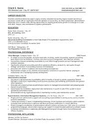 Entry Level Accountant Resume Sample Entry Level Accounting Resume