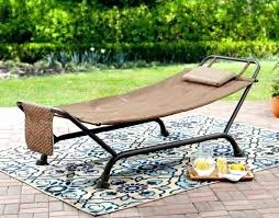 bed bath beyond hammock patio outdoor with stand padded comfort pillow porch yard pool relax and nz