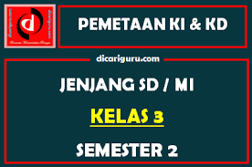 Maybe you would like to learn more about one of these? Download Pemetaan Sk Kd Kelas 3 Semester 2 Tahun 2021 2022 Dicariguru Com