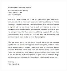 Retirement Speech Example Extraordinary 44 Sample Farewell Letters To Coworkers PDF Word Sample Templates