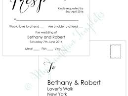 wedding rsvp postcards templates table place cards wedding wedding rsvp postcard template modern