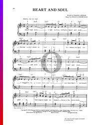 Download hoagy carmichael heart and soul sheet music. Heart And Soul Sheet Music Piano Voice Pdf Download Streaming Oktav